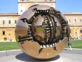 esfera dentro do Vaticano esfera